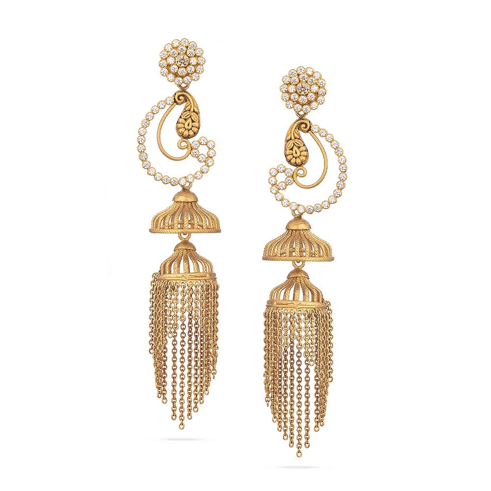 28830 - 22 Carat Gold Earrings UK