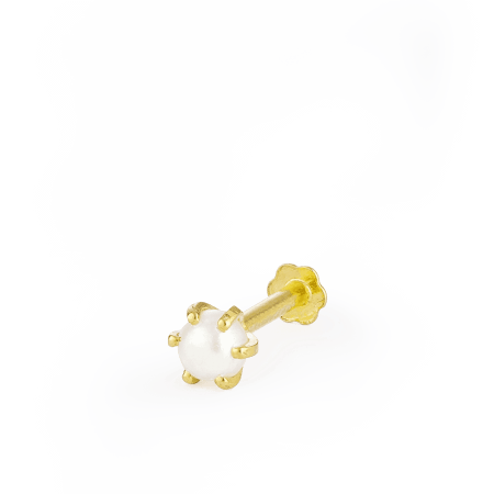 28855_s2 - 22ct Yellow Gold Nose Studs