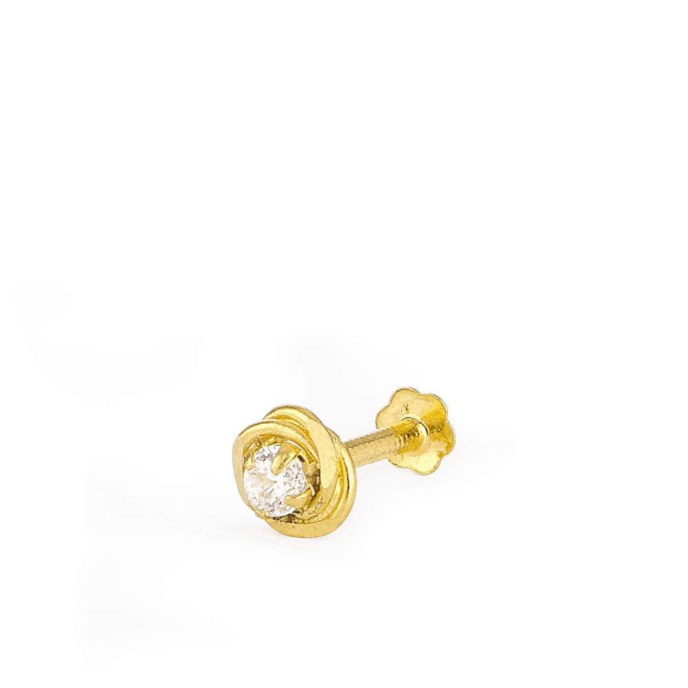28856_s1 - 22ct Yellow Gold Nose Studs