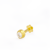 28856_s3 - 22ct Yellow Gold Nose Studs