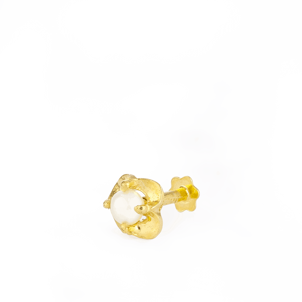 28857_s6 - 22ct Yellow Gold Nose Pins