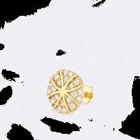 28862 - Indian Gold Nose Pin UK