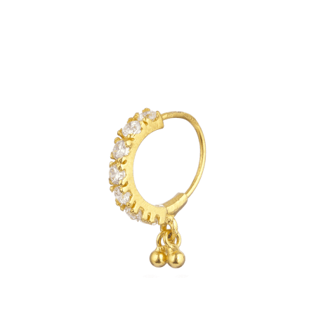 28871_R2 - Indian Gold Nose Rings UK