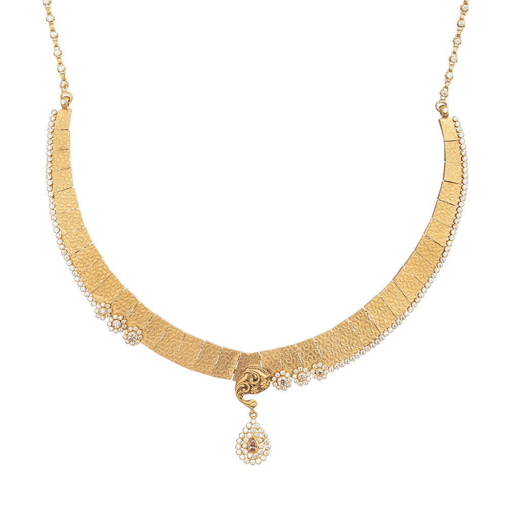 28897 - Bridal Necklace In 22ct Gold