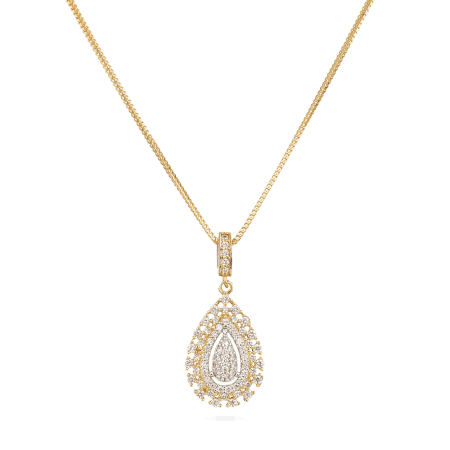 30028 - 22ct Indian Gold Pendant