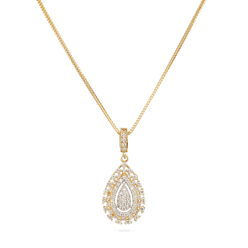31719 - 22ct Indian Gold Pendant