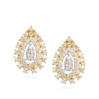 31720 - 22ct Gold Indian Stud Earring