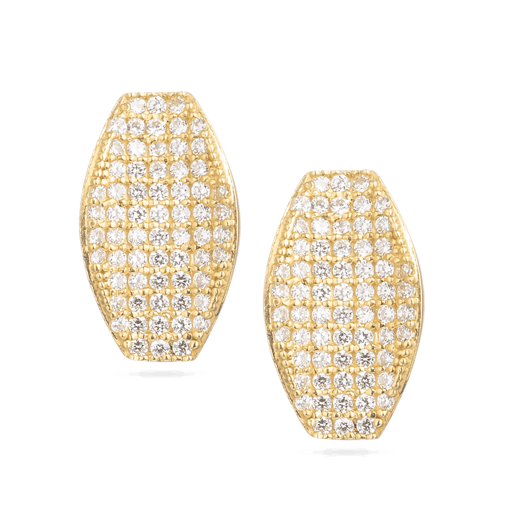 30035 - 22ct Asian Gold Earring