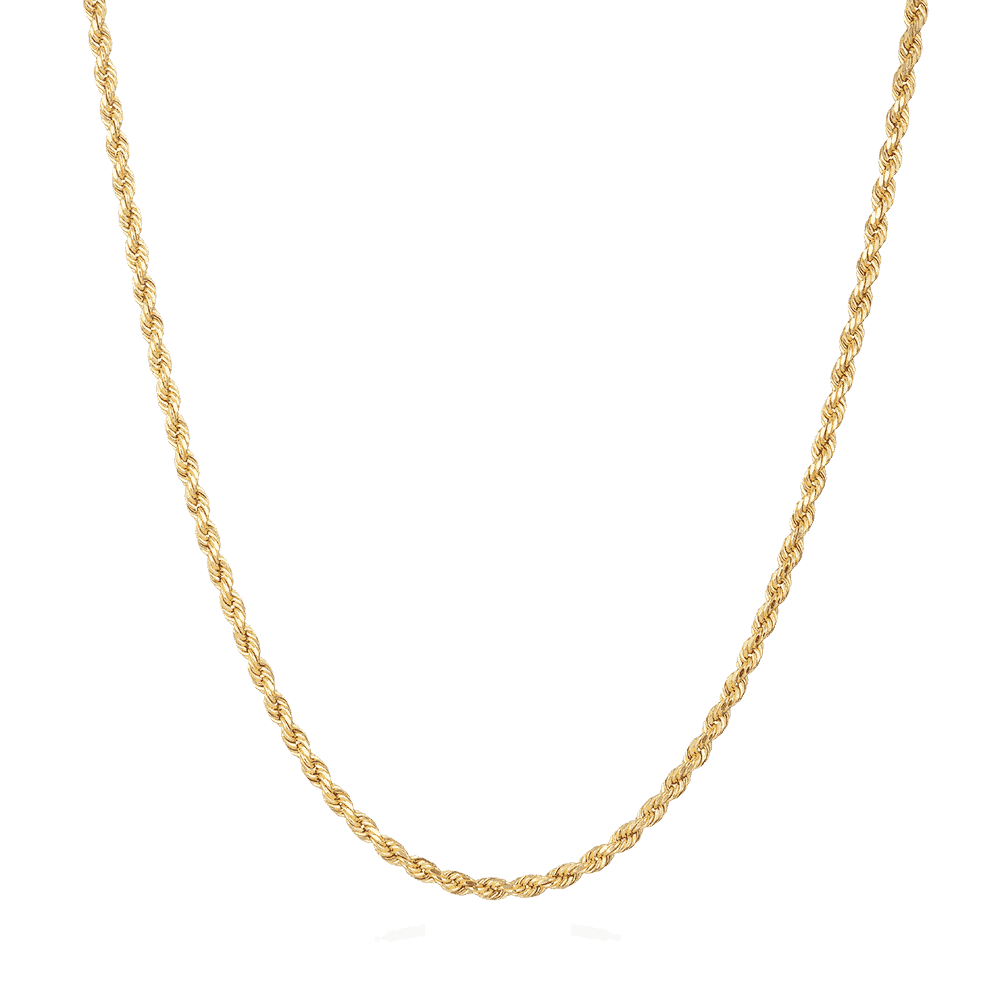 24532 - 22ct Gold Rope chain UK
