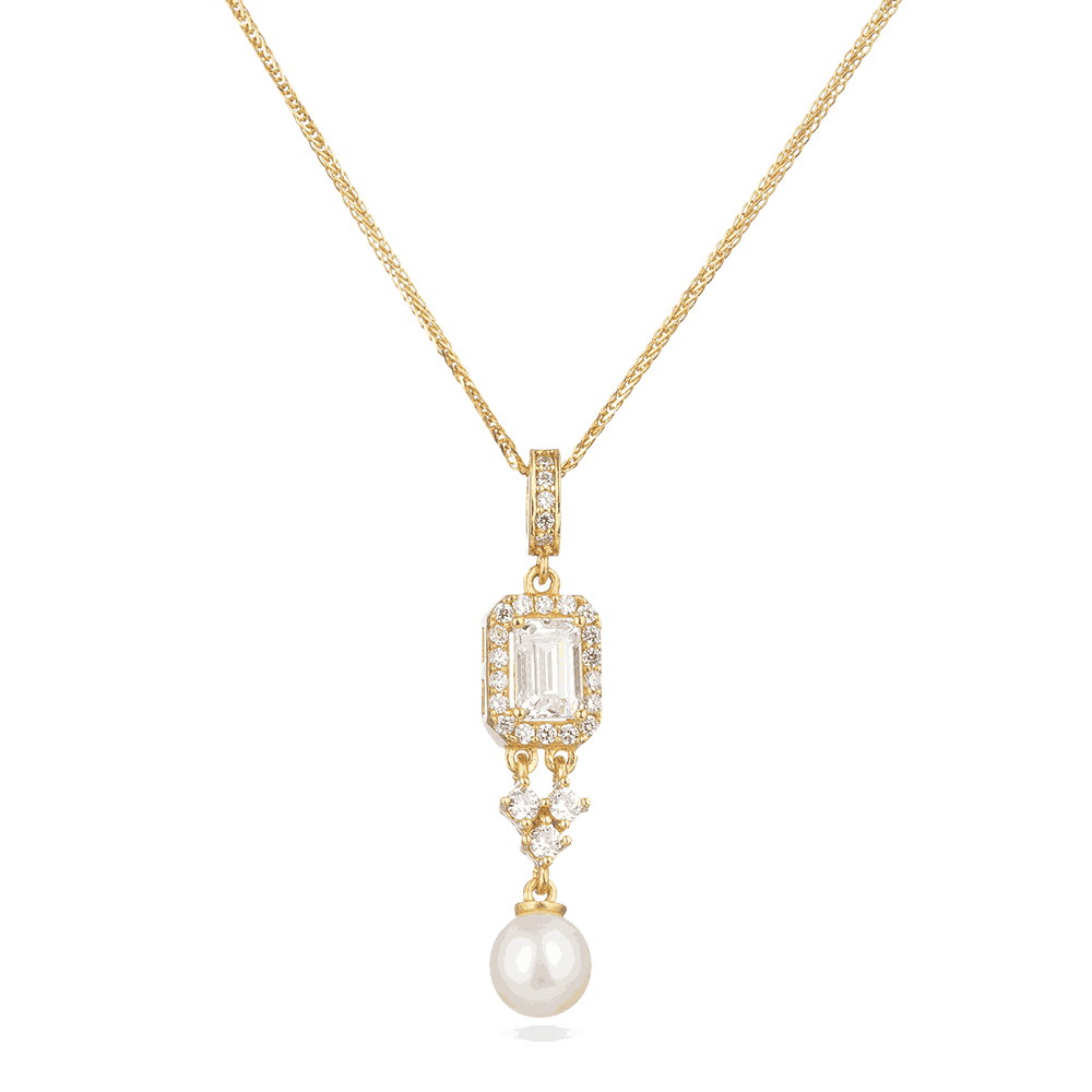 30005 - 22ct Gold pendant with Pearl