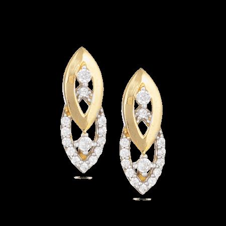 30017 - 22ct Yellow Gold Stud Earrings