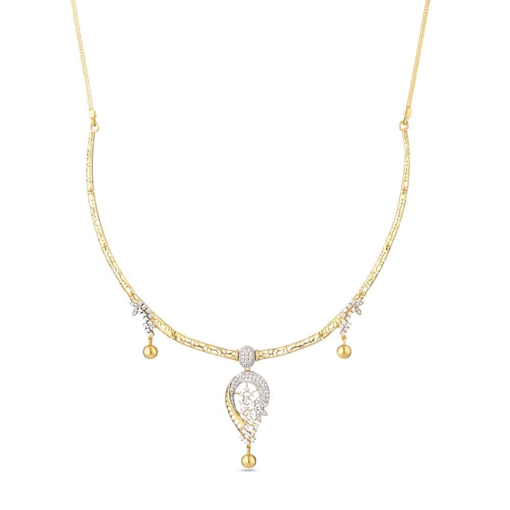 30078 - 22ct Indian Gold Bridal Necklace Set