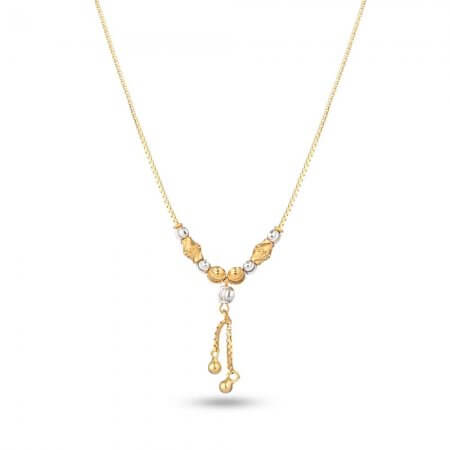 25985 - Gold Choker Necklace In 22ct
