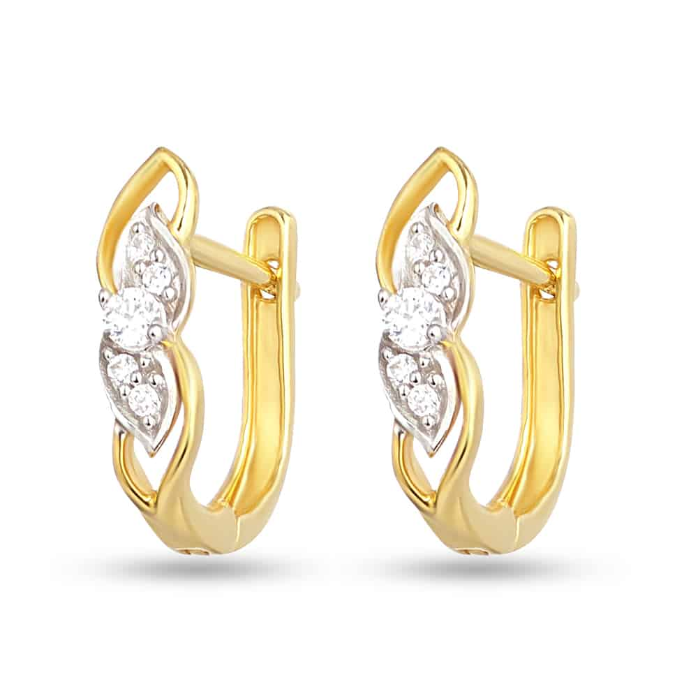 28348 - 22 Carat Gold Hoop Earrings UK