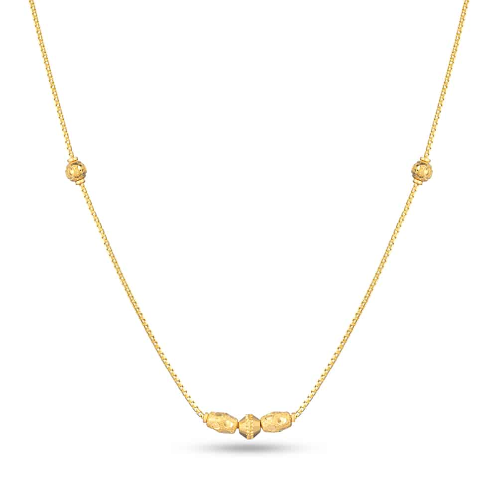 28785 - 22ct Gold Choker Chain