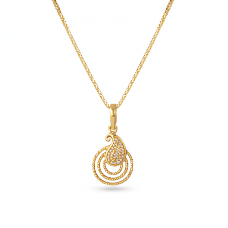 30131 - 22k Asian Gold Pendant