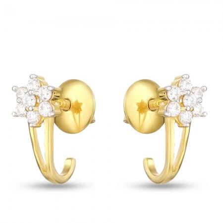 30170 - Gold Stud Earring UK