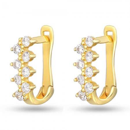 30229 - 22ct Gold Hoop Earrings