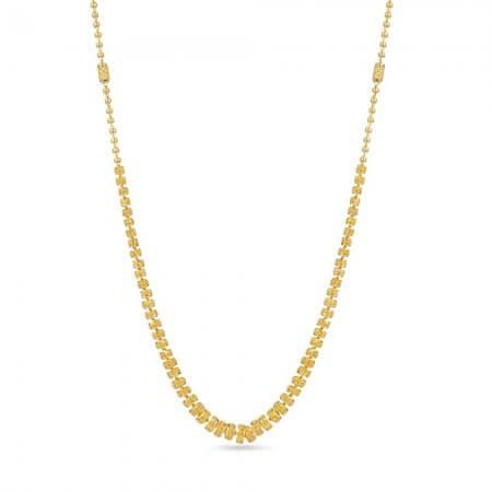 30268 - 22k Gold Mala Necklace