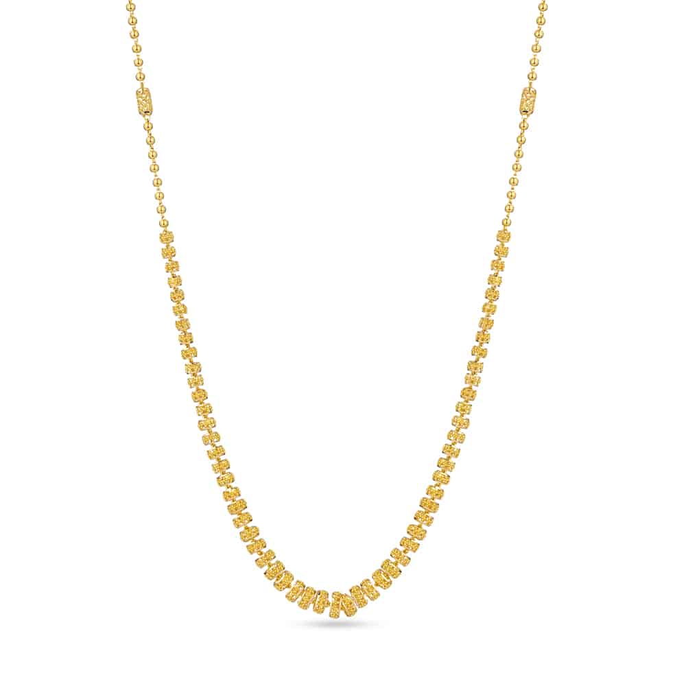 30268 - 22k Gold Mala Necklace