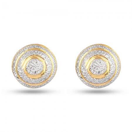 30333 - Indian Gold Stud Earrings