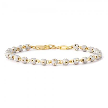 28597, 30393 - Sparkle bead Ladies bracelet