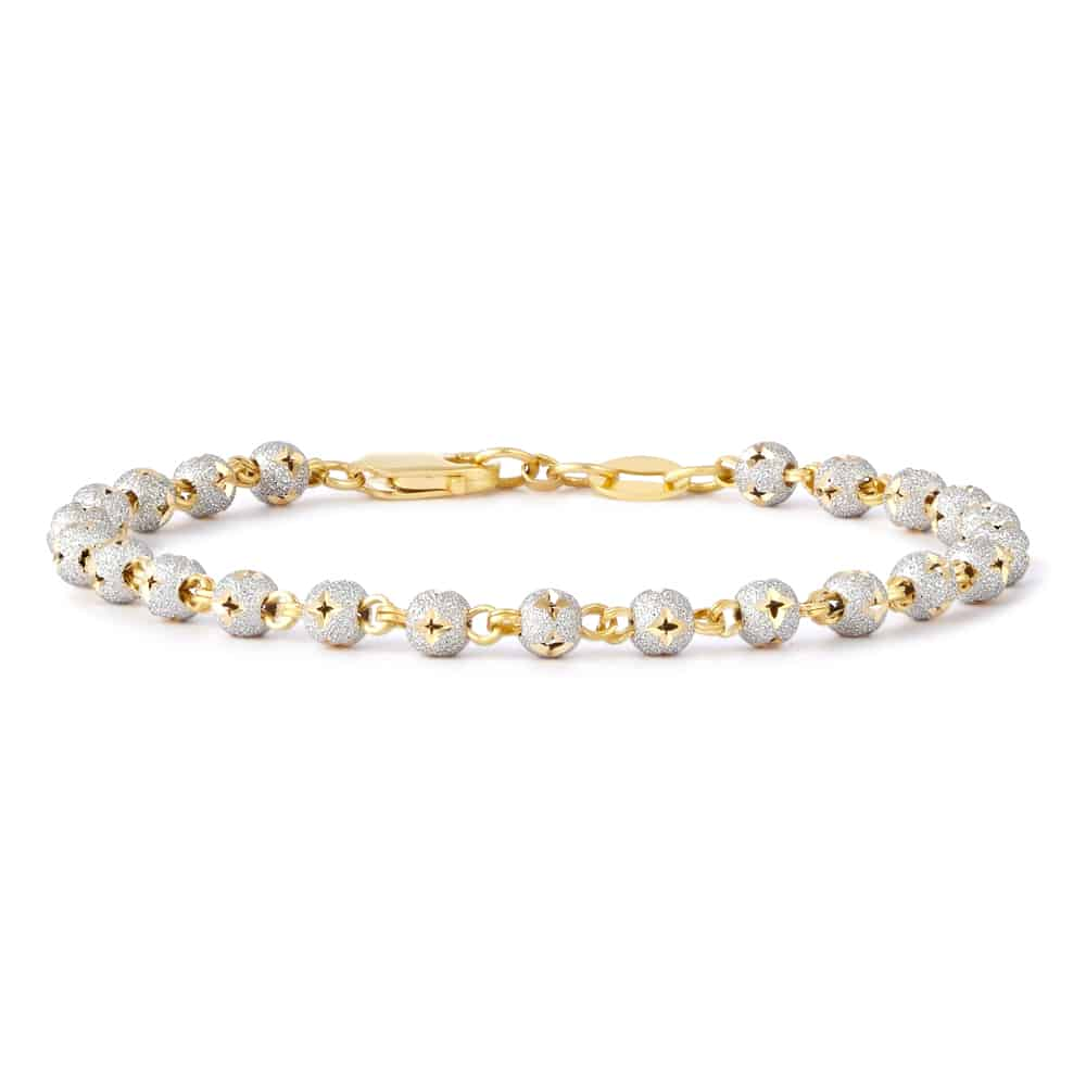 28597, 30393 - Sparkle bead Ladies bracelet