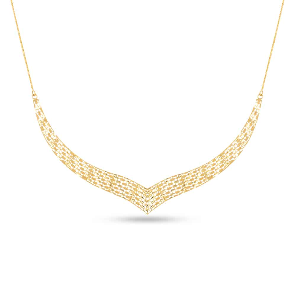 31372, 31374 - 22ct Yellow Gold Bridal Necklace