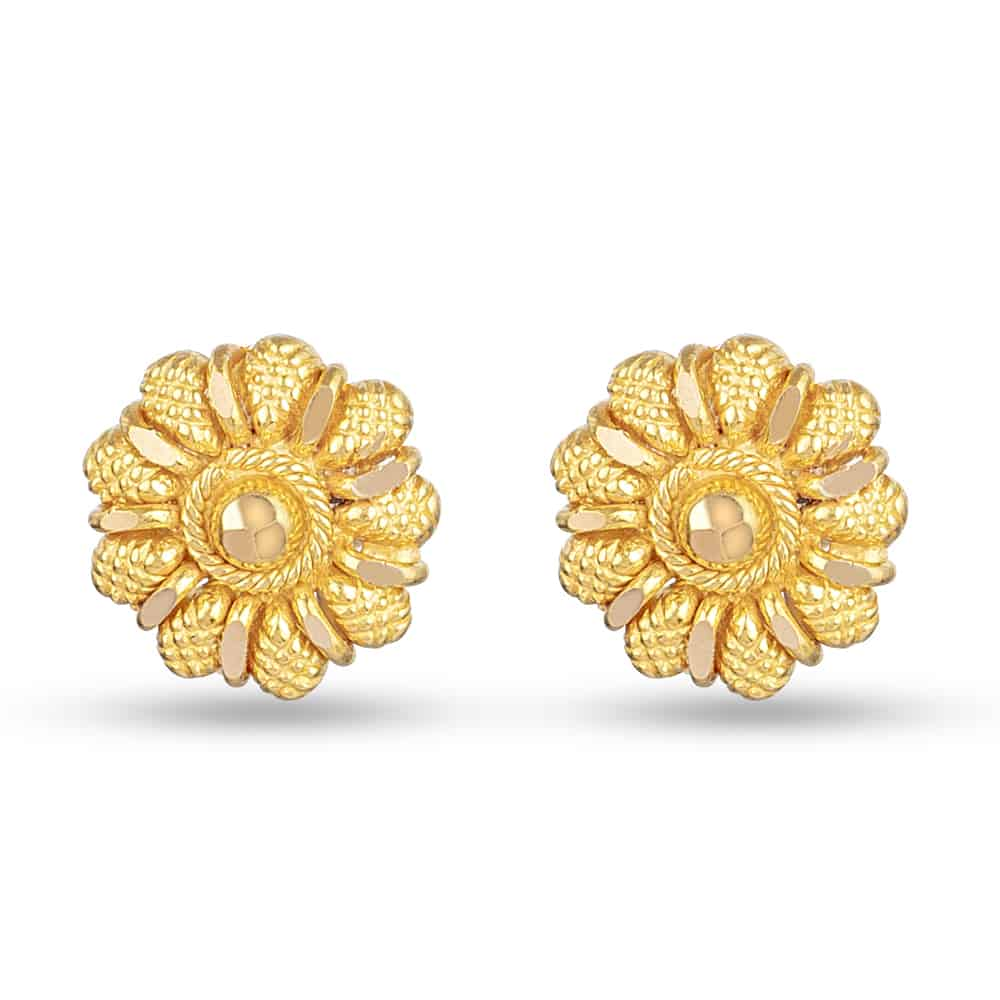 30371 - 22ct Yellow Gold Stud Earring