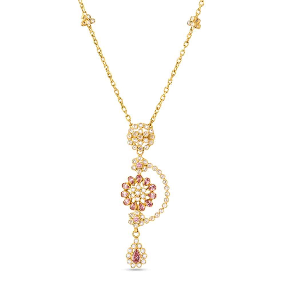27103 - 22ct Polki Necklace