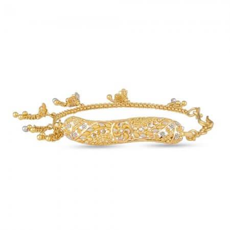 28782 - 22ct Half Bangle Bracelet