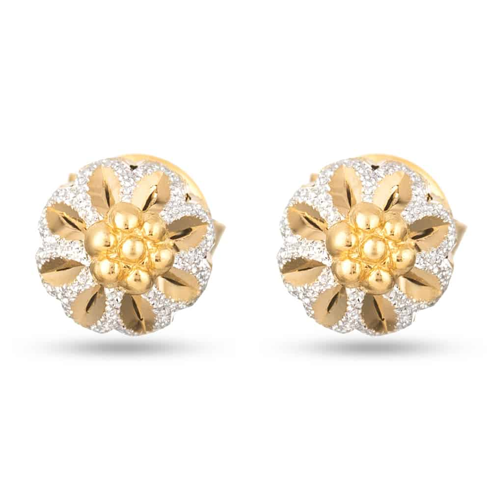 30389 - 22ct Gold Stud Earring