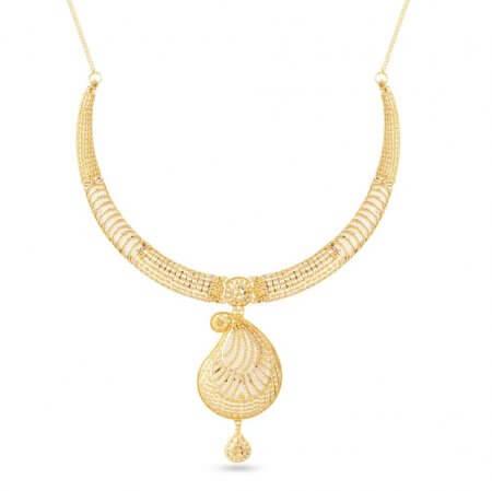 30473 - 22 Carat Gold Wedding Necklace