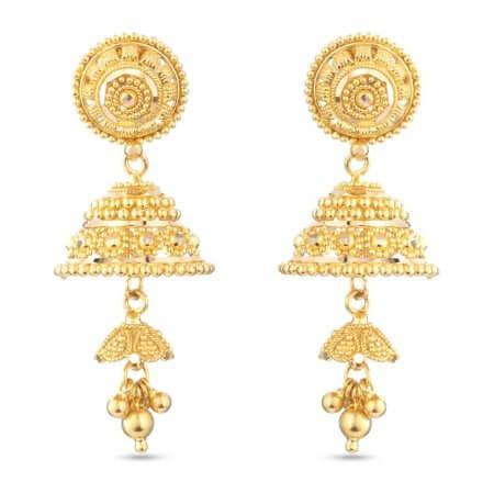 30490 - 22 Carat Gold Earrings UK