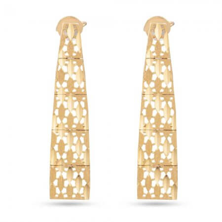 30408 - 22ct Gold Bridal Earring