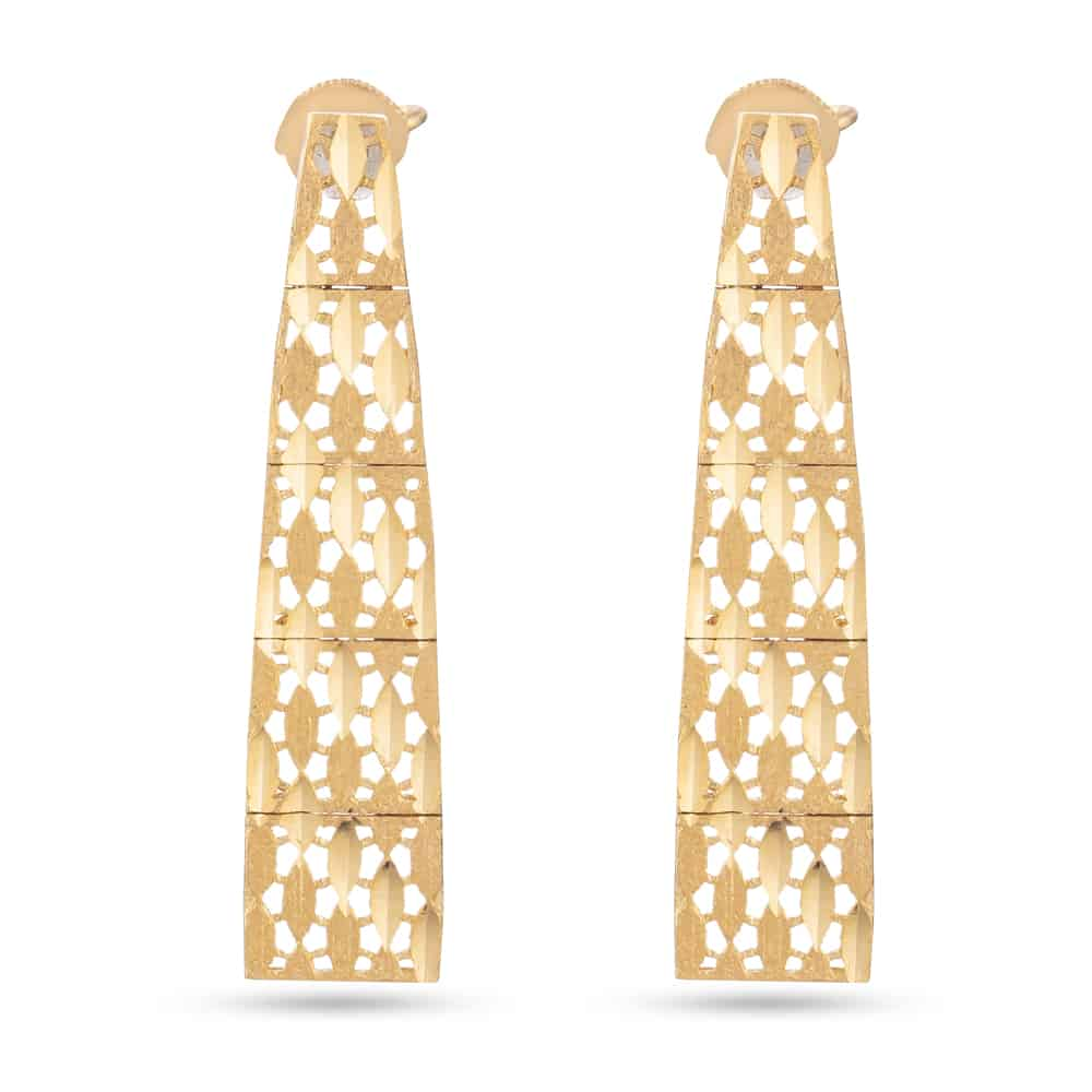 31373, 31375 - 22ct Gold Bridal Earring