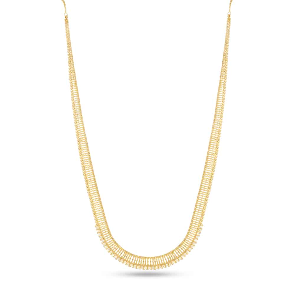 30487 - 22 Carat Gold Indian Bridal Necklace