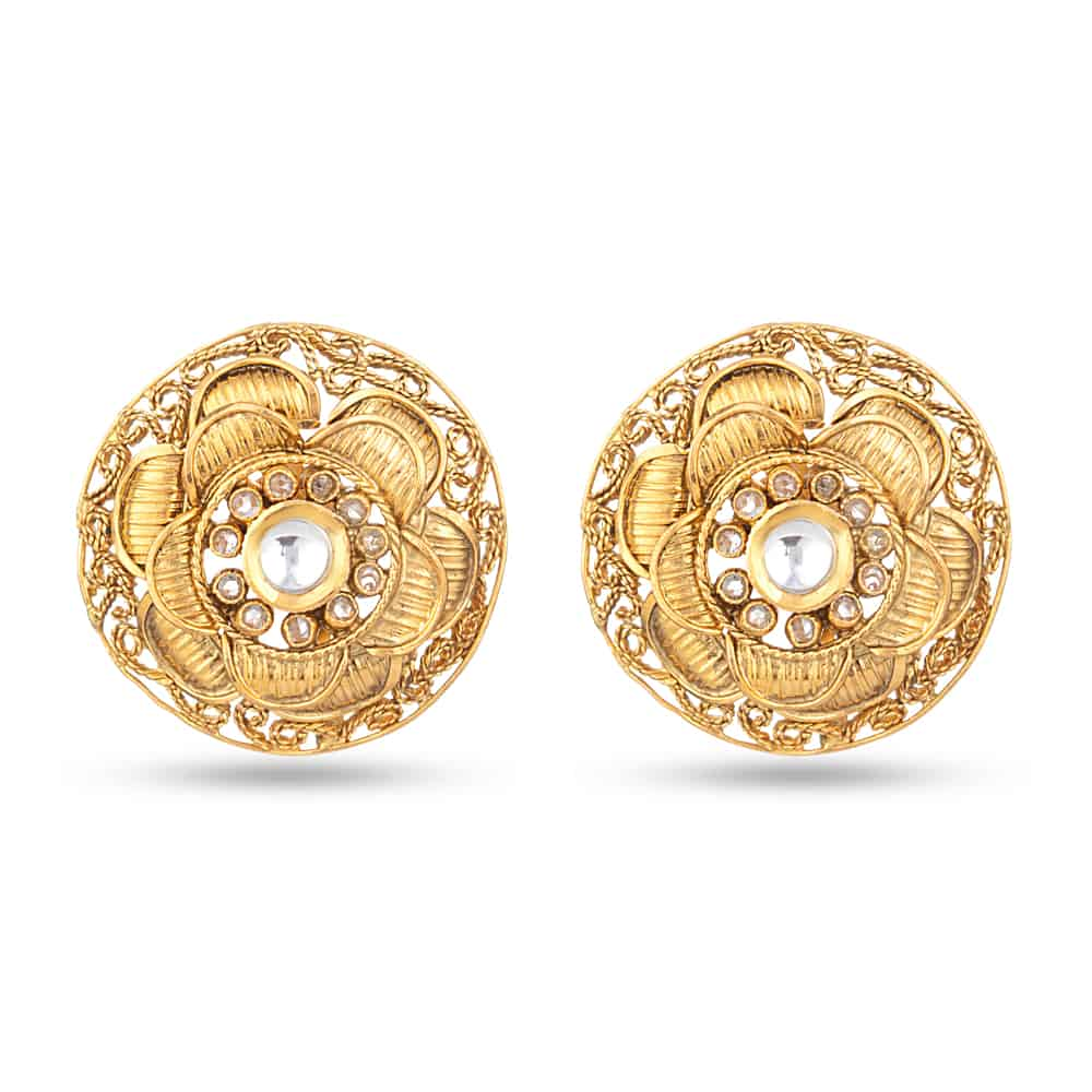 30507 - 22ct Antique Stud