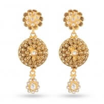 30509 - 22 Carat Antique Gold Earring