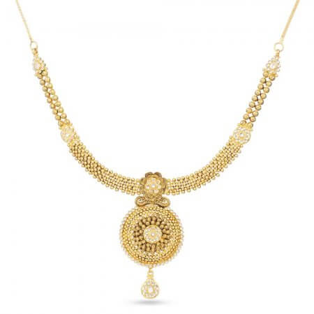 30508 - 22 Carat Antique Gold Necklace