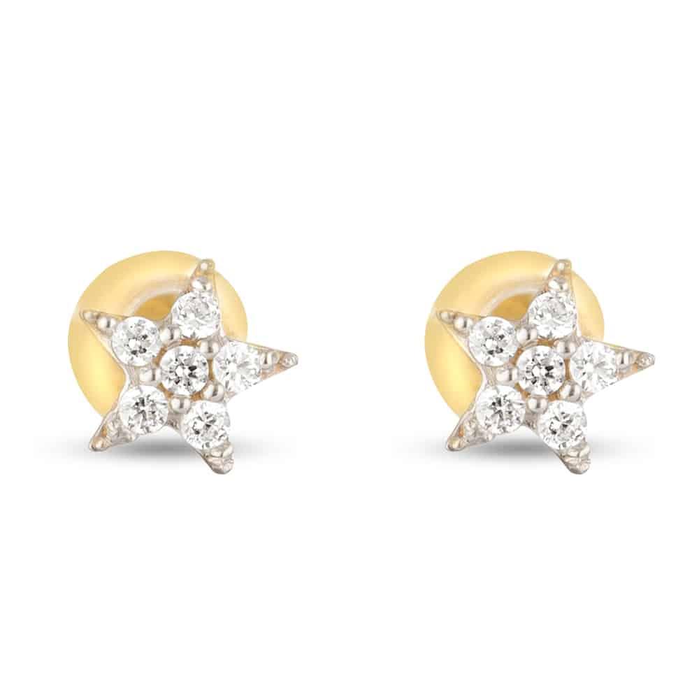 30549 - 22 Carat Gold Star Earring
