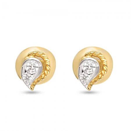 30559 - 22ct Gold Dew Drop Earring