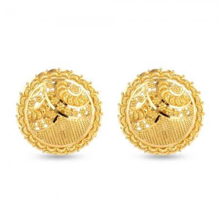 30708 - 22 Carat Yellow Gold Stud Earring