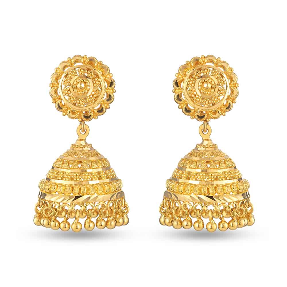 28673 - 22 Carat Gold Earrings