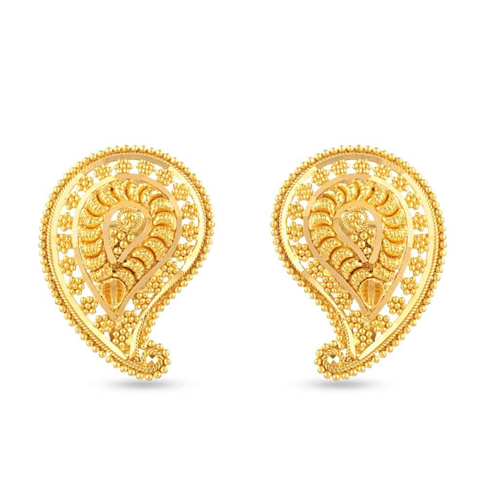 30709 - 22 Carat Gold Stud Earring