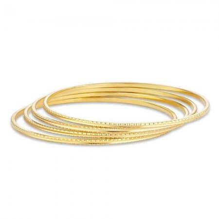 30731, 30732 - 22ct Gold Bangle Set