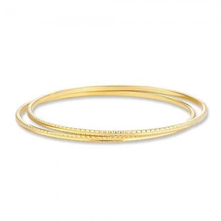 30731, 30732 - 22ct Indian Gold Bangles Set
