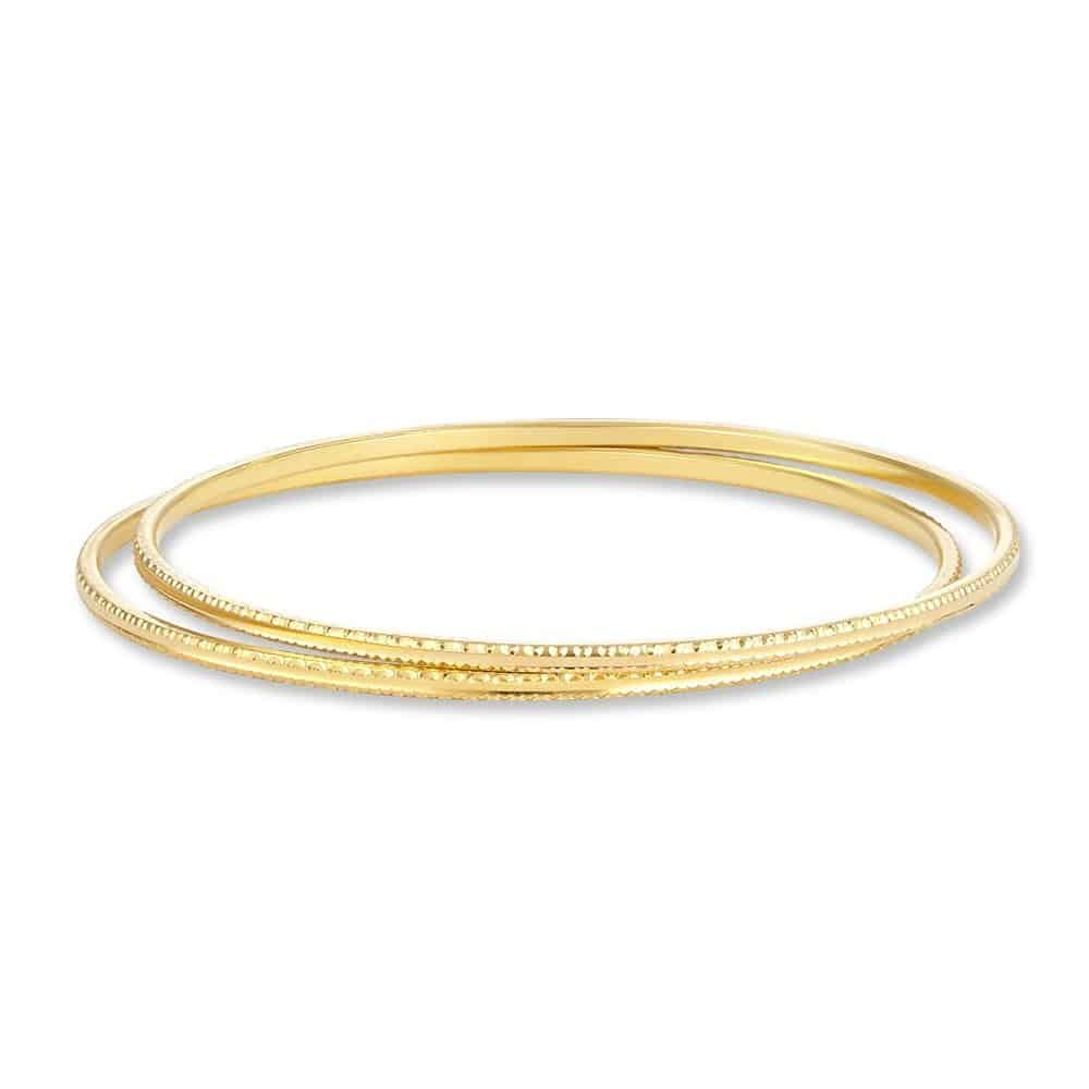 30731, 30732 - 22ct Indian Gold Bangles Set