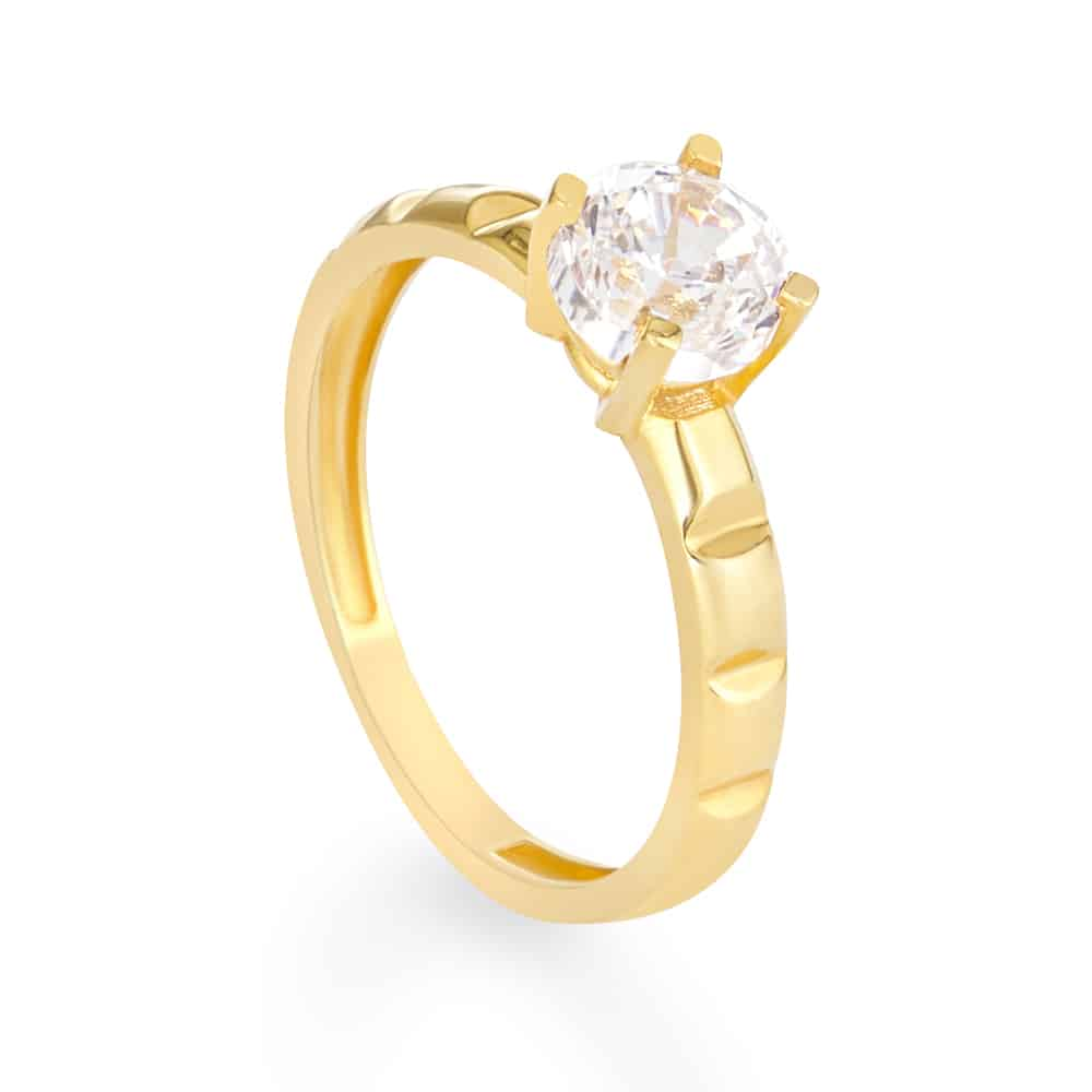 30742 - 22 ct Asian Gold Engagement Ring