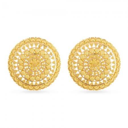 30747 - 22 Carat Indian Gold Studs